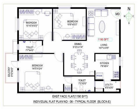 house layout vastu east facing 3 bedroom house plans as per vastu