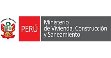 constituci 211 n pol 205 ministerio de vivienda construccin y saneamiento