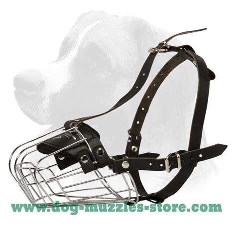 basket muzzle comfortable safe wire basket muzzle m4 1079 wire basket muzzle