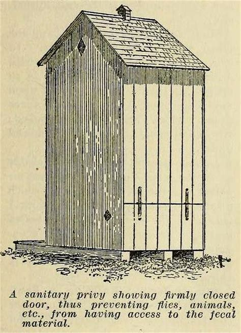 build an outhouse privy with plans from 1909 the