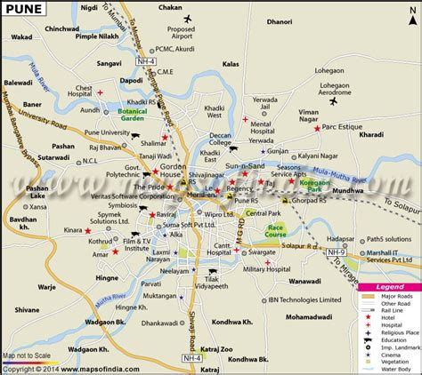 pune in map of india buy pune map