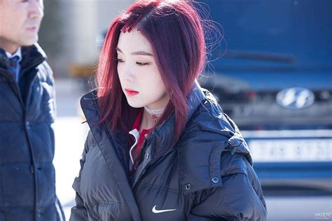 blood hairstyles velvet irene spotted in with new blood