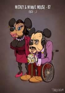 Si les personnages de dessins anim 233 s avaient leurs 226 ges r 233 els