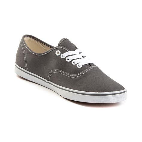 Authentic Lo Pro Shoes vans authentic lo pro skate shoe gray 499608