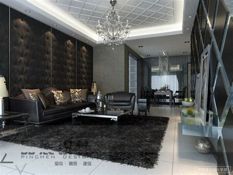 feature wallpaper for grey walls modern living rooms from the far east