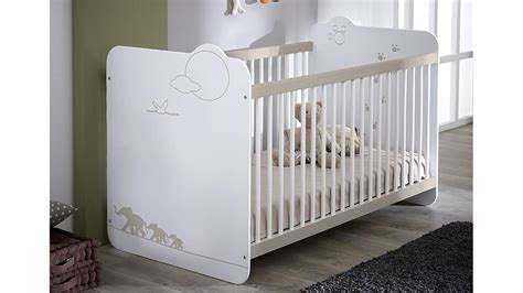 Babybett Am Bett by Babybett Jungle Kinderbett Bett In Wei 223 Mit Dschungelmotiv