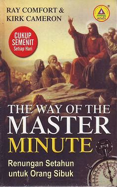 the way of the master by ray comfort jual buku the way of the master minute terjemahan ray