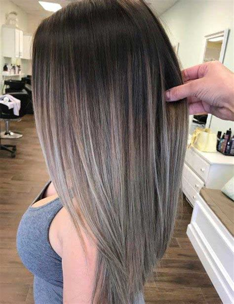 hairstyles for long straight hair with highlights amazing long straight hairstyles for women long