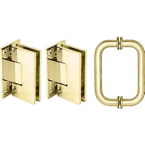Frameless Shower Door Hardware Supplies Crl V1es3br Vienna Hinge And Handle Set Builderssale
