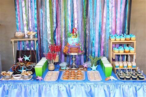 little mermaid table decoration ideas