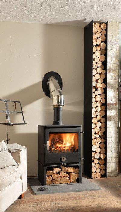 wood burning stove with wood storage 25 best ideas about log burner on wood burner