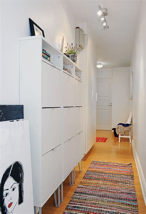 shoe storage for hallways storage for a narrow hallway are these ikea shoe