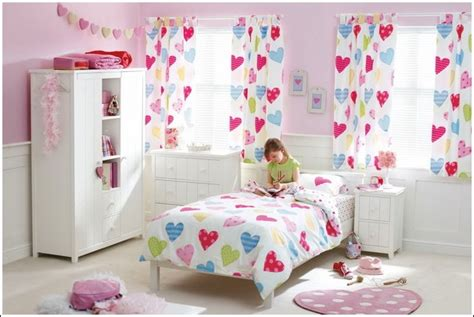 heart curtains for kids design heart inspired rooms for your kids