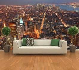 full wall new york skyline from the empire state building kids wall murals photograph wallpaper murals uk walltastic