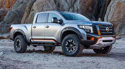 nissan titan nissan titan warrior revives baja vibes for detroit