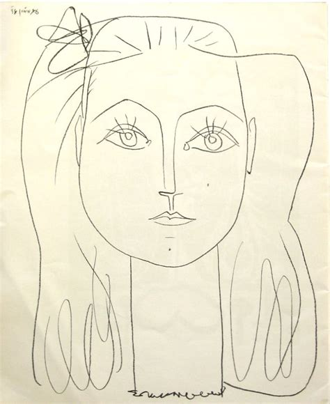 picasso line drawings and picasso artists