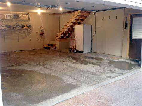Garage Floor Refinishing by Concrete Resurfacing Hardscape Paving Soils