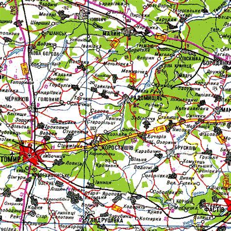 ua map ukrainian road map server coordinate f03