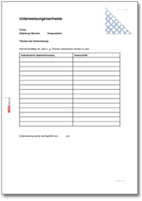 Word Vorlage Teilnehmerliste Dehoga Shop Muster Betriebsanweisung Kaufen