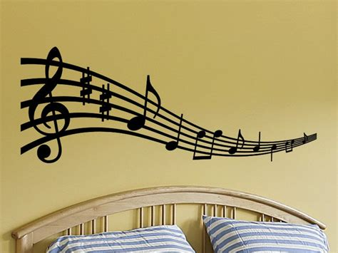 music wall decor wall decal sticker musical notes for any room by vgwalldecals