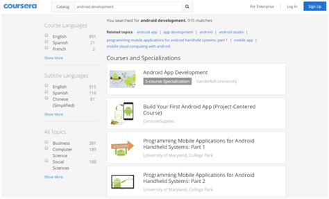 php tutorial vogella the best free and paid android app development courses