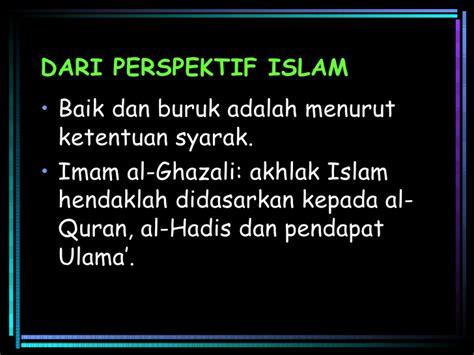 Hadis Dan Orientalis Perspektif Ulama Hadis Dan Orientalis Tentang Ha 10 akhlak dalam tamadun islam