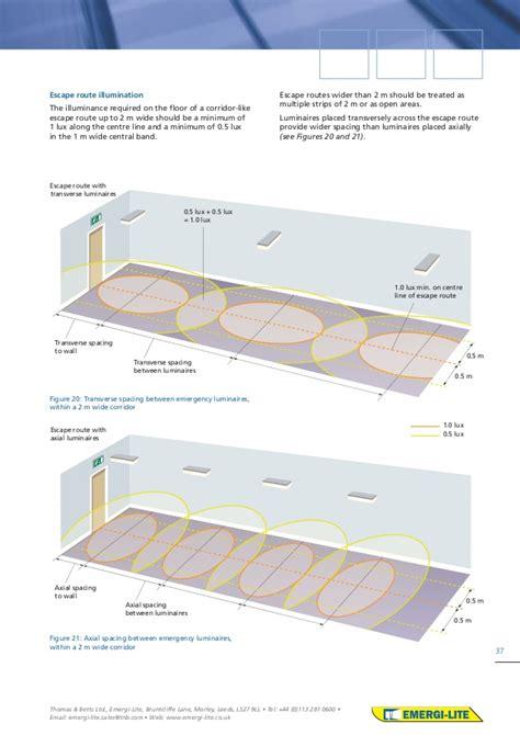 lighting design guide emergi lite emergency lighting design guide