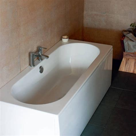 double ended bathtub britton bathrooms verde 1900 x 800mm double ended bath