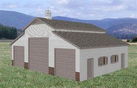 Rv Barn Plans by 36 X 46 Rv Garage Barn Floor Plans Blueprints