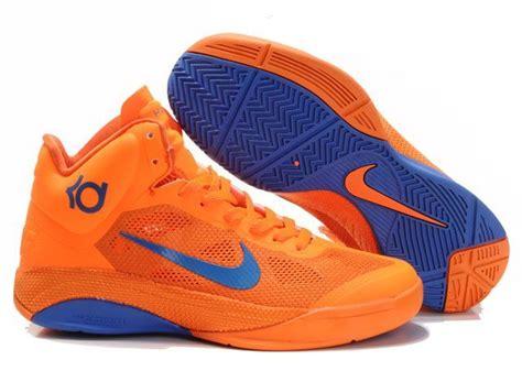nike basketball shoes orange and blue nike zoom hyperfuse s basketball shoe in orange blue