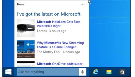 cortana search box is limited in windows 10 to microsoft how to remove cortana search box from taskbar in windows