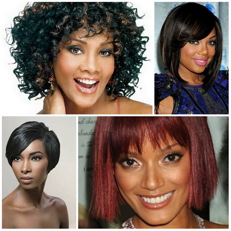 bob hairstyles 2017 black hair 2017 choppy bob haircuts for afro american new