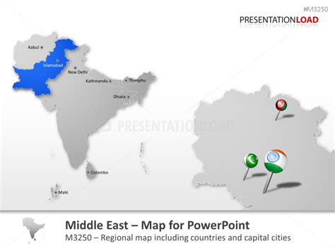 middle east map for powerpoint presentationload oriente medio