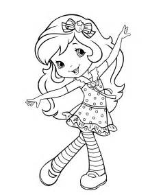 strawberry shortcake 34 coloringcolor