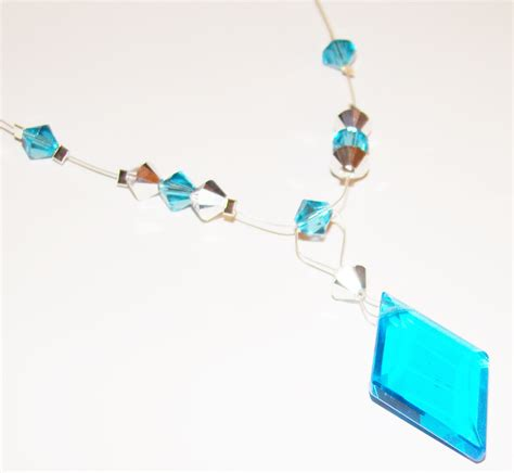 bead a a bead a day this week s project aqua pendant