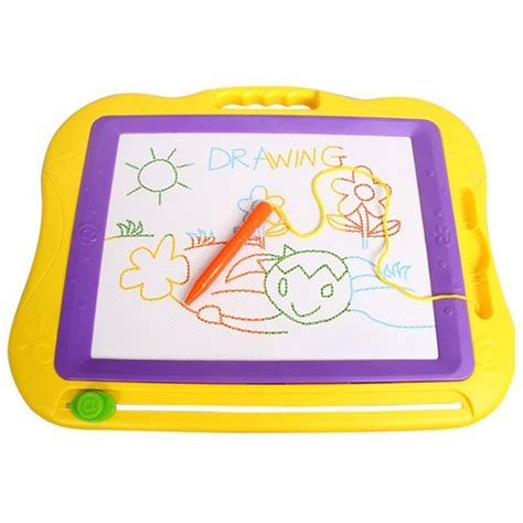 color doodle magnetic drawing board magnetic erasable colorful drawing board doodle sketch d8