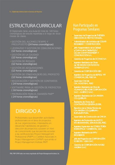 Notre Dame Mba Brochure by Brochure Din Gproyectos