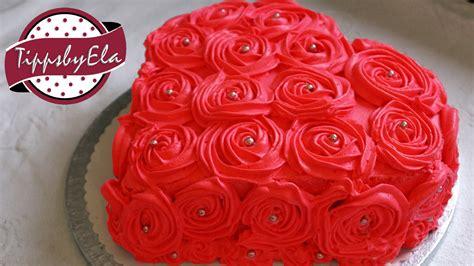 muttertagstorte rosen torte herztorte sahne torte selber