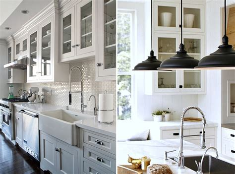 White Backsplash For Kitchen by The Modern Farmhouse Kitchen Taymor Canada
