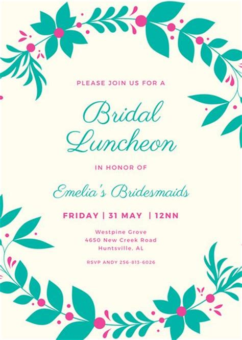 luncheon invitation template lunch invitation template songwol 23d762403f96
