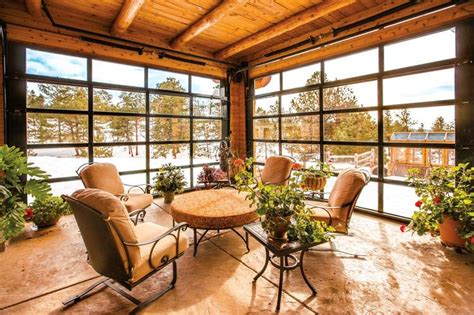 Cost Of Sunroom In Canada Garage Door Styles That Work Indoors Wsj
