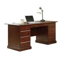 sauder office furniture heritage hill executive desk by sauder
