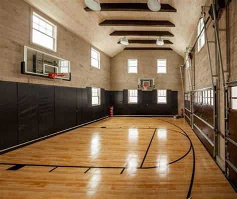 basement basketball court east coast inspired family home home bunch interior