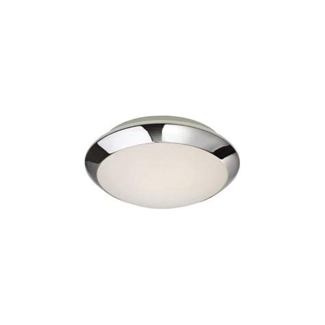 chrome and opal glass flush fitting bathroom ceiling light ip44 firstlight mondo single light flush bathroom ceiling fitting in polished chrome finish with opal