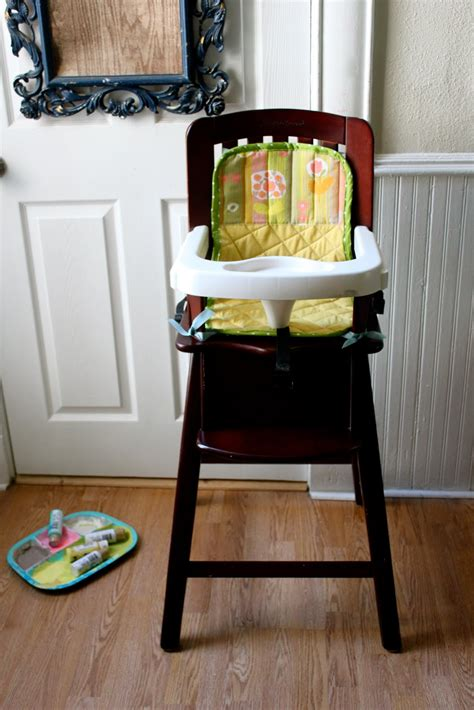 high chair seat protector smile and wave high chair seat cover tutorial
