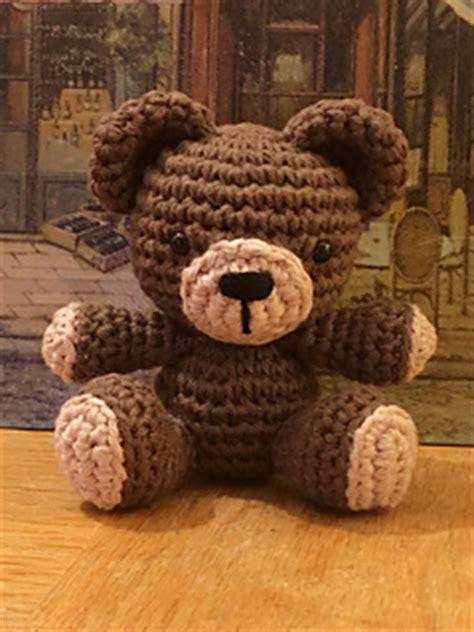 tiny teddy knitting patterns ravelry tiny teddy pattern by doering