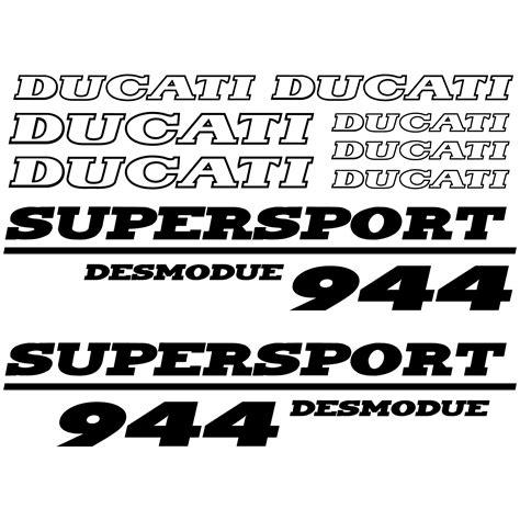 Ducati Wall Sticker by Wallstickers Folies Ducati 944 Desmo Decal Stickers Kit