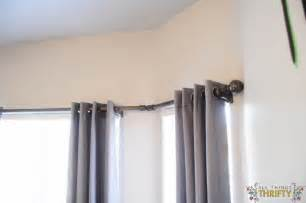 Shower Curtain Sets With Window Curtains - diy bay window curtain rod