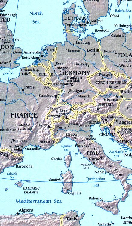 world atlas europe rivers map europe map map of europe facts geography history of