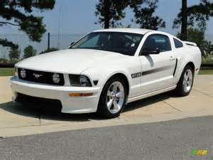 California Specs Performance White 2008 Ford Mustang Gt Cs California